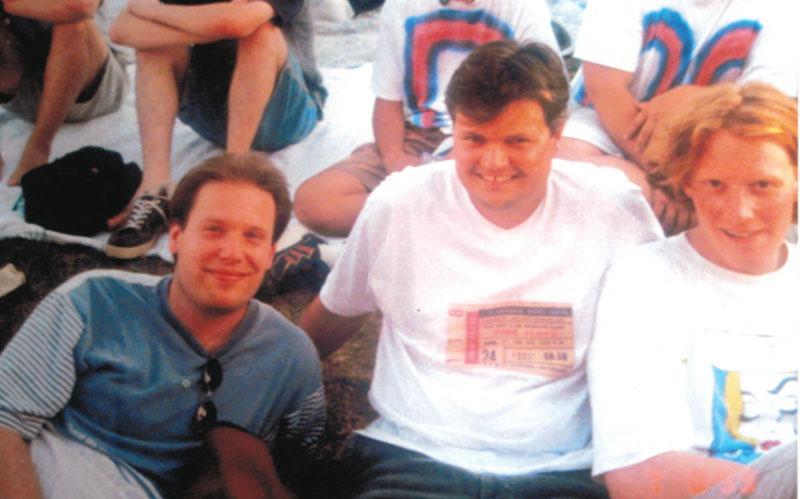 Arne Sigge, Thomas Müller, Henning Sigge 1999 in Holmdel NY