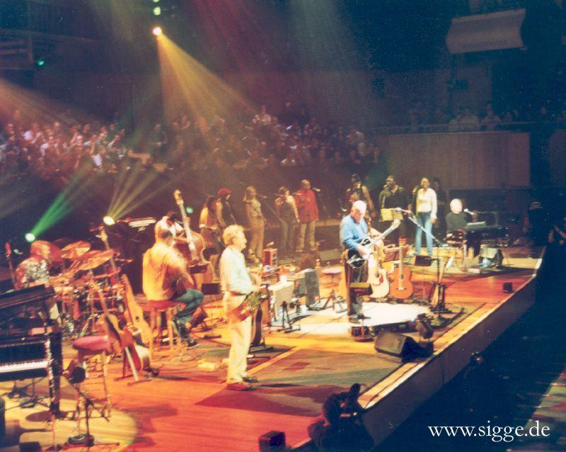 David Gilmour RFH London 17.2.2002